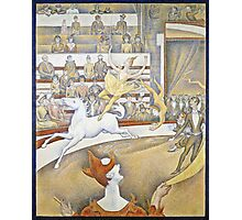 Georges Seurat -  The Circus (1891)  Photographic Print