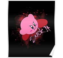 Kirby - Suck it Poster