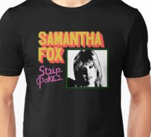 Samantha Fox Strip Poker T-shirt for Adults
