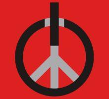 Peace Power: Press ON! One Piece - Short Sleeve