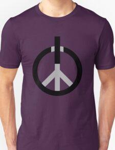 Peace Power: Press ON! Unisex T-Shirt