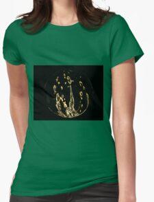 Golden twist Womens Fitted T-Shirt