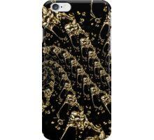 golden water drops iPhone Case/Skin