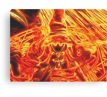 Incendium Waltz Canvas Print