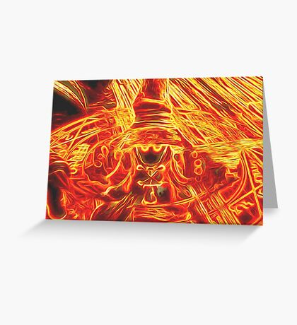 Incendium Waltz Greeting Card