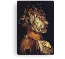 Giuseppe Arcimboldo - The Earth - From Four Elements 1566  Canvas Print