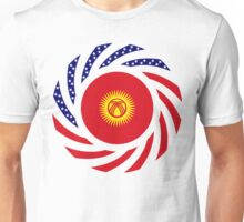 Kyrgyzstan American Multinational Patriot Flag Series Unisex T-Shirt