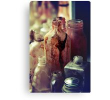 Deadly Potions Canvas Print