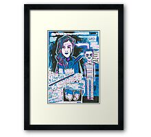 Undeniably Her Framed Print