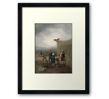 Goya - Comicos Ambulantes Framed Print
