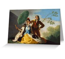 Goya - El Quitasol Greeting Card