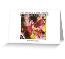 Cyndi Lauper - Bring Ya to the Brink Greeting Card