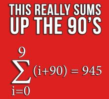 Math Equation: This really sums up the 90's by datthomas