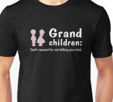 Grand Children God's Reward For Not Killing Your Kids Shirt Unisex T-Shirt