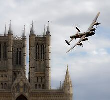 Lancaster City Of Lincoln  by J Biggadike