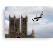 Lancaster City Of Lincoln  Canvas Print