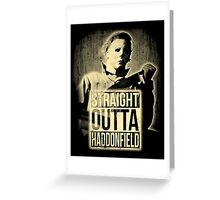 Michael Myers Halloween T-shirt  Greeting Card