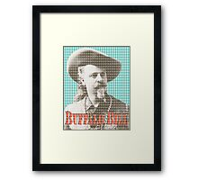 I Wish I Was A Wild West Hero Framed Print