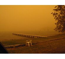 Dusty Lake Photographic Print