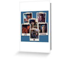 Life Is Strange - Photo Collage Greeting Card