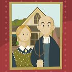 American Gothic by Grant Wood by alapapaju