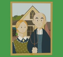 American Gothic by Grant Wood Kids Clothes