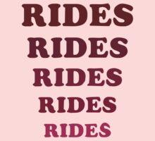 Adventureland – Rides Rides Rides by tvmovietvshirt