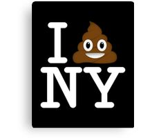 I love NY t-shirt parody Canvas Print