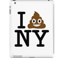 I love NY t-shirt parody 1 iPad Case/Skin