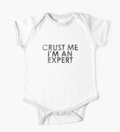 Crust Me I'm An Expert Pizza Shirt One Piece - Short Sleeve