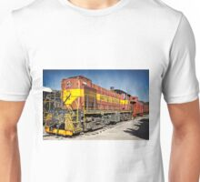 Railroad Engine  Unisex T-Shirt