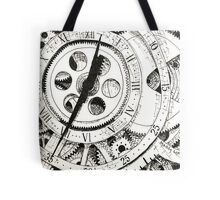 Watch in Ink Tote Bag