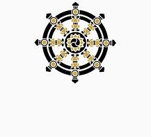 Dharma Wheel of Fortune, Buddhism, Auspicious Symbol Unisex T-Shirt