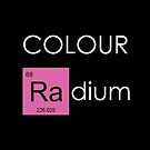 Colour Radium - Pink - For Black BackGround by Ry Bowie-Woodham