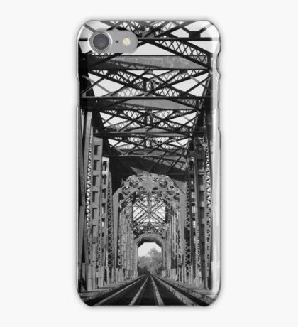 Richmond Texas Rail Road Bridge iPhone Case/Skin
