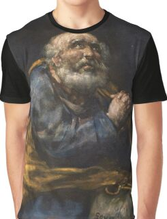 Goya - The Repentant St  Peter Graphic T-Shirt