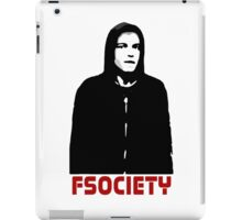 mr robot fsociety hacker anonymous tv elliot anderson protest political iPad Case/Skin