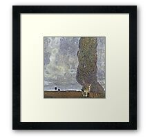 Gustav Klimt - A Gathering Storm (The Grand Aspen Ii) 2  Framed Print