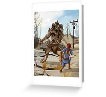 Wasteland Survivor Greeting Card