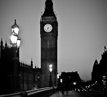 Big Ben B/W by Alexandra Vaughan Photography & Design