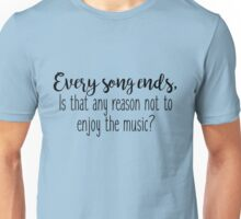 One Tree Hill - Every song ends Unisex T-Shirt