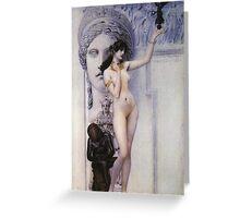 Gustav Klimt - Allegory Of Sculpture Greeting Card