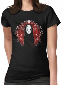 No Face Womens Fitted T-Shirt