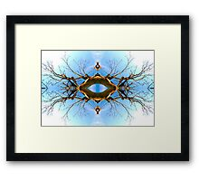 In the Trees Framed Print
