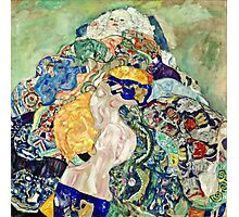 Gustav Klimt - Baby (Cradle)  Photographic Print
