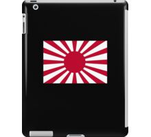 War flag, Imperial Japanese Army, The Rising Sun Flag, Japan, Japanese, WWII iPad Case/Skin