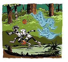 Ewok Ghosts by tupa