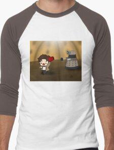 DALEK RUN Men's Baseball ¾ T-Shirt