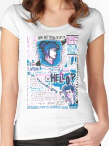 Liam's Love Letter Women's Fitted Scoop T-Shirt