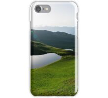 Two lakes iPhone Case/Skin